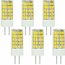 MENGS® 6 Stück G4 LED Lampe 6W AC/DC 12V