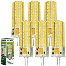 MENGS® 6 Stück G4 LED Lampe 7W AC/DC 12V
