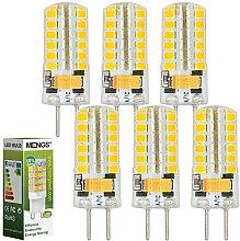 MENGS® 6 Stück GY6.35 4W LED Lampe Kaltweiß