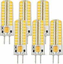 MENGS® 6 Stück GY6.35 5W LED Lampe Warmweiß
