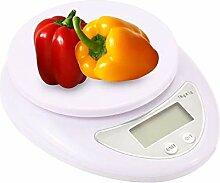 Mengshen Digitale Küchenwaage Lebensmittel 5 kg