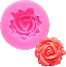 MENGYANG 1 Stück Rose Form Praline Jello