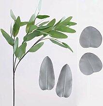 MENGYANG Blätter Blütenblätter Schimmel Silikon