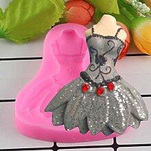 MENGYANG Kleid Rock Princess 3D-Form Kuchenformen