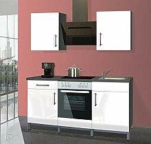 Menke Singleküche Küche Küchenblock 180 cm