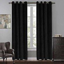 Menran gardine Vorhang Halbschatten bettzimmer