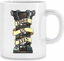 Mensis Käfig Sigil Kaffeebecher Becher Tassen