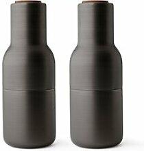 Menu - Bottle Salz- und Pfeffermühlen Set,