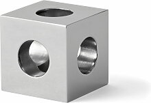 Menu - Cube Kerzenhalter, Stahl