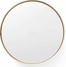 Menu Darkly Spiegel Small Gebürstetes Messing (d) 6.2 X (Ø) 20 Cm