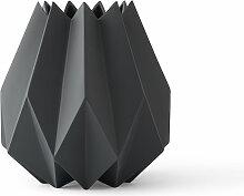 Menu - Folded Vase tall, carbon