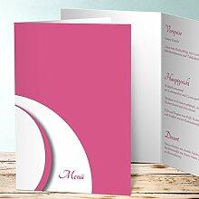 Menükarten Design, Footprint 70 Karten, Vertikale Klappkarte (A5) 145x210, Ro