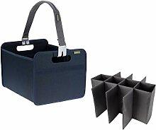 meori Marine Foldable Box Medium Blue With