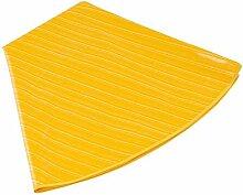 MERADISO Tischdecke gelb