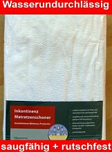 Merango Matratzenschoner Inkontinenz Auflage Nässeschutz 90 x 200 cm