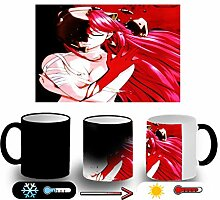 MERCHANDMANIA ZAUBER Becher Elfen LIED Girl Cold ho