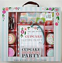 Meri Meri Cupcake-Backset, Party-Set für bis zu 8Personen