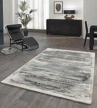 Merinos Wohnzimmer Teppich Design mit Glanzfasern