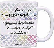 Mermaid Coffee Mug Frauen Geschenkidee Ihr