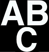 Merriway BH07144 Vinyl-Buchstaben zum Aufkleben