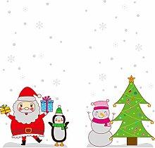 Merry Christmas schaufensterdekoration
