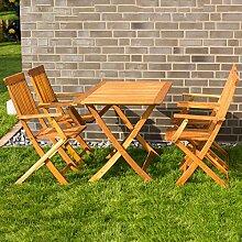 Merschbrock Trade GmbH Gartensitzgruppe, Tisch mit