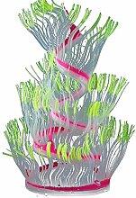 Merssavo Künstliche Wasserpflanzen, lebendige