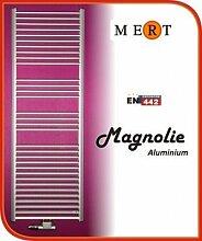 MERT Magnolie Aluminium-Badheizkörper (Variante: Breite:400 Höhe:1210)