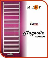 MERT Magnolie Aluminium-Badheizkörper (Variante: Breite:600 Höhe:1210)