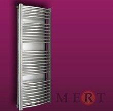MERT Sondar Design-Badheizkörper (Varianten:: RAL 9016 Verkehrsweiß Breite:620 Höhe:1690)