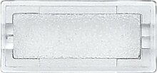 Merten 395569 Symbole, rechteckig, neutral,