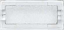 Merten Symbole, rechteckig, neutral, glasklar, 395569