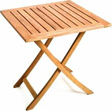 MERXX Garten-Klapptisch aus Holz, 70x70 cm
