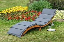 MERXX Gartenliege Honopu, mit Auflagen, klappbar