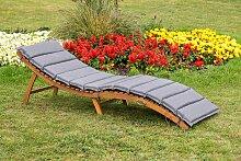 MERXX Gartenliege La Pelosa, mit Kissen, klappbar