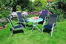 MERXX Gartenmöbel Gartensitzgruppe Neapel 5-teilig