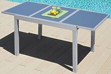 MERXX Gartentisch Amalfi, 90x140-200cm, ausziehbar