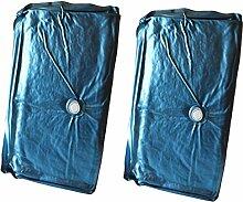 Mesamoll Dual Wassermatratzen Set 200x220 cm, Wasserkerne, Wasserbett Matratzen für Softside Wasserbetten 75% Beruhigung