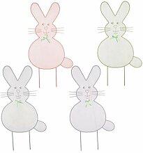 Mesh Ostern Bunny Yard Dekoration Sortier