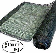 Mesh Sombreo 90% dunkelgrün 2,0Meter Rolle