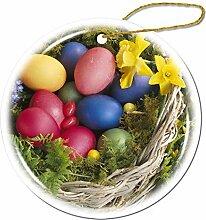 Mesllings Bunte Natur Osterkorb-Ornamente -