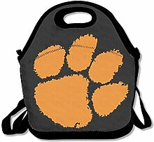 Mesllings Clemson Lunchbox mit Fußball-Logo,
