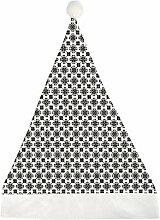 Mesllings Fliese schwarz und weiß nahtloses