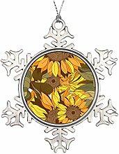 Mesllings gelbes Muster Blumen und Sonnenblumen