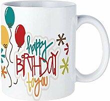 Mesllings Happy Birthday Luftballon, Keramik,