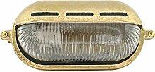 Meso 10W E27 LED Messing wandstrahler Schiffslampe