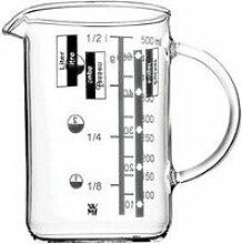 Messbecher hitzebeständig Glas