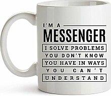 Messenger Kaffeebecher Kaffeebecher Messenger