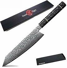 Messer Damaskus Küchenmesser handgemachte