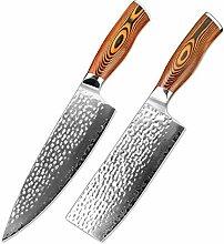 Messer Set für Köche 8-Zoll-Kochmesser Damaskus